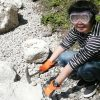 新潟県糸魚川市フォッサマグナミュージアム内「化石の谷」で化石発掘体験!